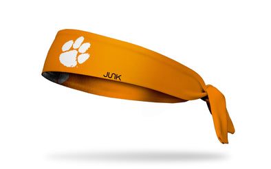 Clemson Tigers: Logo Orange Tie Headband