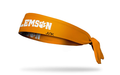 Clemson Tigers: Clemson Orange Tie Headband