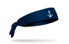 Delta Gamma (DG) Anchor Navy Tie Headband