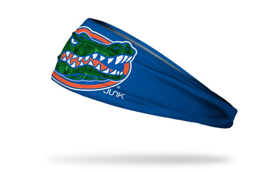 University of Florida: Gator Skin Inlay Headband