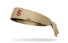 Florida State University: Baseball Gold Tie Headband