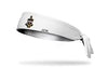 Kappa Alpha Theta (Theta) Coat of Arms White Tie Headband