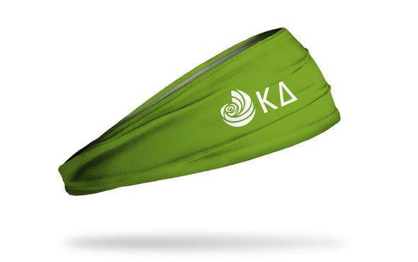 Kappa Delta (KD) Greek Logo Green Headband