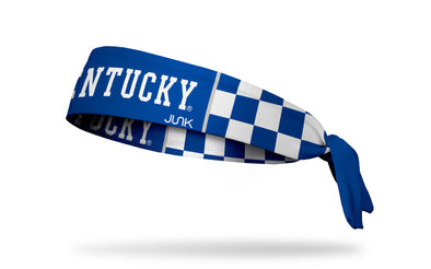 University of Kentucky: Checkered Royal Headband