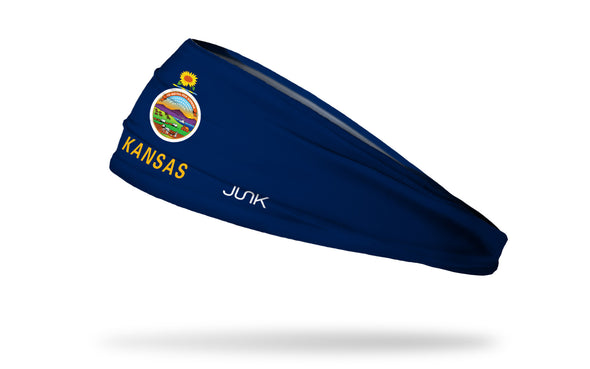 Kansas Flag Headband