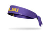 Louisiana State University: LSU Gold and Purple Tie Headband