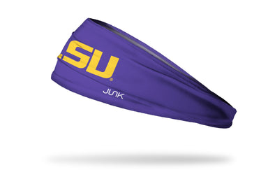 Louisiana State University: LSU Gold and Purple Headband