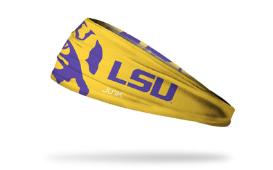 Louisiana State University: LSU Tiger Eye Gold Headband