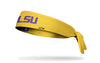 Louisiana State University: LSU Purple and Gold Tie Headband