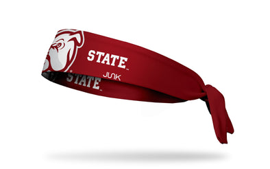 Mississippi State University: Oversized Bulldog Tie Headband