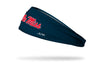 University of Mississippi: Ole Miss Navy Headband