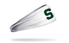 Michigan State University: S Logo White Headband