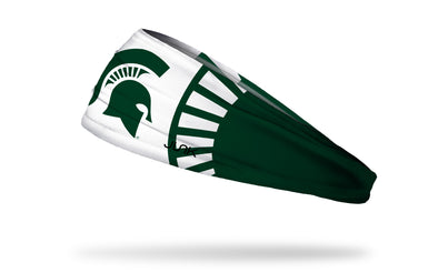 Michigan State University: Alt Spartan Green Headband