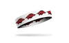 University of Arkansas: Logo White Headband