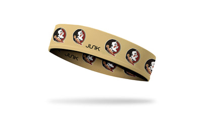 Florida State University: Logo Gold Headband