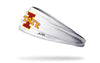 Iowa State University: Logo White Headband