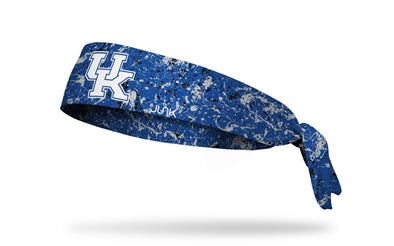 royal blue headband with University of Kentucky letter logo in white