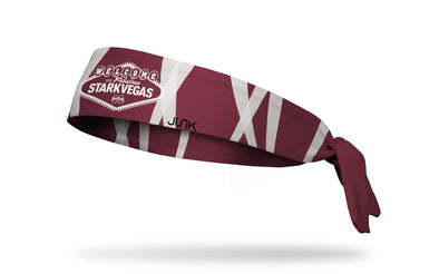 Mississippi State University: Flashing Lights Tie Headband