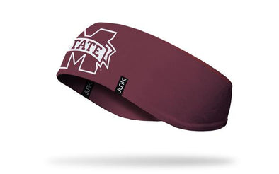 Mississippi State University: Logo Maroon Ear Warmer