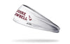 Mississippi State University: More Cowbell White Headband