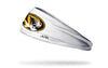 University of Missouri: Logo White Headband