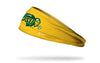 North Dakota State University: Logo Gold Headband