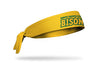 North Dakota State University: Wordmark Gold Tie Headband