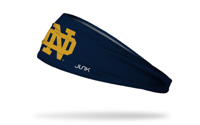University of Notre Dame: Logo Navy Headband