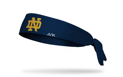 University of Notre Dame: Logo Navy Tie Headband
