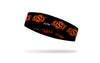 Oklahoma State University: Logo Black Headband