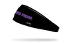 TCU: Horned Frogs Black Headband
