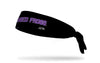 TCU: Horned Frogs Black Tie Headband