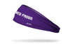 TCU: Horned Frogs Purple Headband