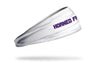 TCU: Horned Frogs White Headband