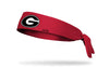 University of Georgia: Logo Red Tie Headband