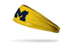 University of Michigan: Logo Maize Headband