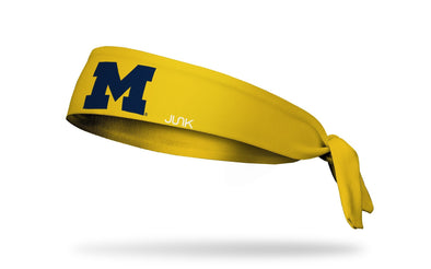 University of Michigan: Logo Maize Tie Headband
