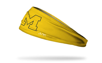 University of Michigan: Maize Rage Headband