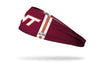 Virginia Tech: Helmet Maroon Headband