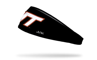 Virginia Tech: Logo Black Headband