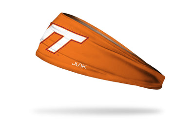 Virginia Tech: Logo Orange Headband