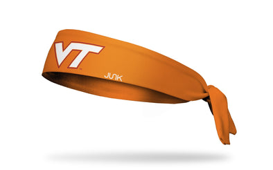 Virginia Tech: Logo Orange Tie Headband
