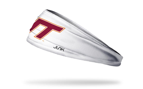 Virginia Tech: Logo White Headband