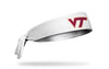 Virginia Tech: Logo White Tie Headband