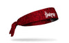 University of Nebraska: Logo Heathered Tie