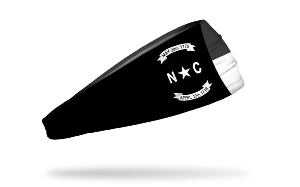 North Carolina Monochrome Flag Headband