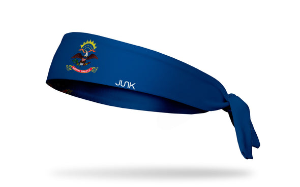 North Dakota Flag Headband