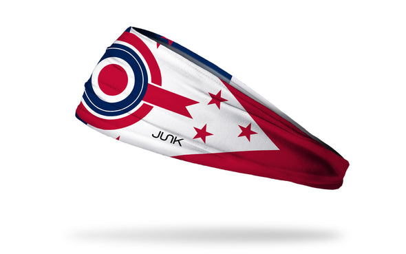 Ohio Burgee Flag Headband