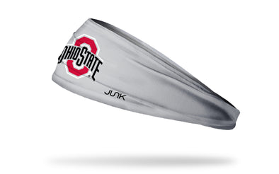 Ohio State: Logo Grey Headband