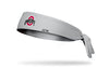Ohio State: Logo Grey Tie Headband
